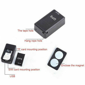 Magnetic GPS Tracker Device GSM Mini SPY Real Time Tracking Locator Car Motorcycle Remote Control