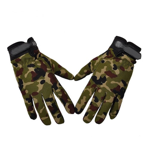 Tactical Gloves Antiskid Army Military Bicycle Airsoft Motocycel Shooting
