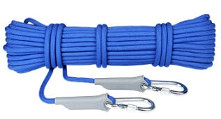 10M Professional Rock Climbing Cord Outdoor Hiking Accessories Rope 9.5mm Diameter 2600lbs High Strength Cord