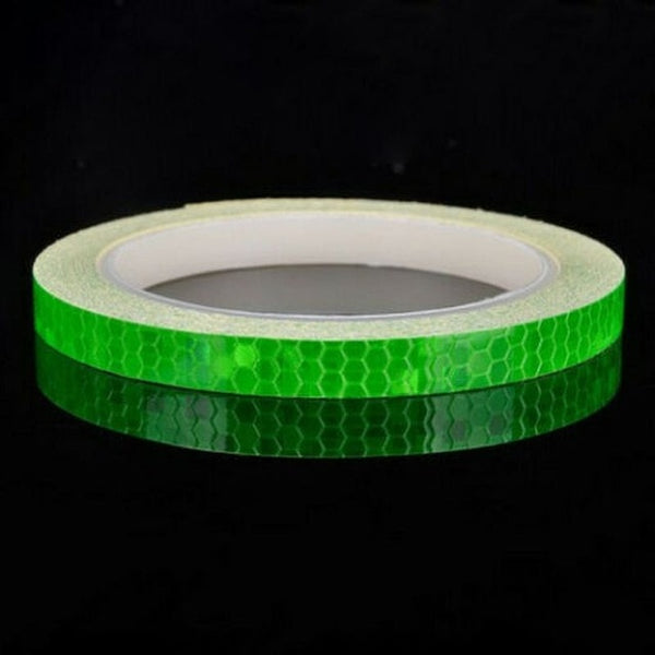 800 cm Fluorescent MTB Bike Bicycle Motorcycle Reflective Stickers Strip Decal Tape Waterproof Safety night Cycling