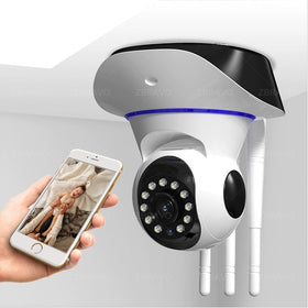 1080P IP Camera Pan Tilt Wireless Home Security Camera IR Night Vision