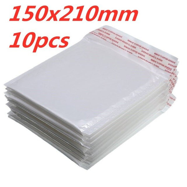 10 PCS/Lot White Foam Envelope Bag Different Specifications  Mailers Padded Shipping Envelope