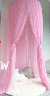 Baby Bed Canopy Curtain Around Dome Mosquito Net Crib Netting Hanging