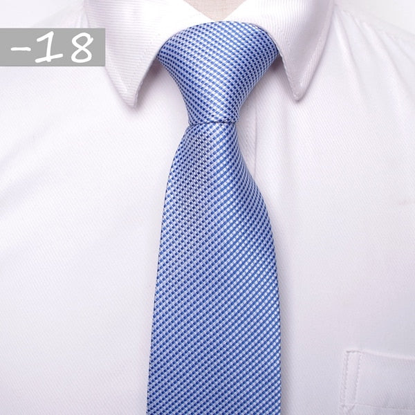Classic Men Business Formal Tie 8cm