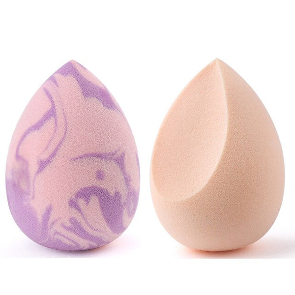 Makeup Sponge Concealer Smooth Cosmetic Powder Puff Cut Shape Foundation Water Drop Bevel