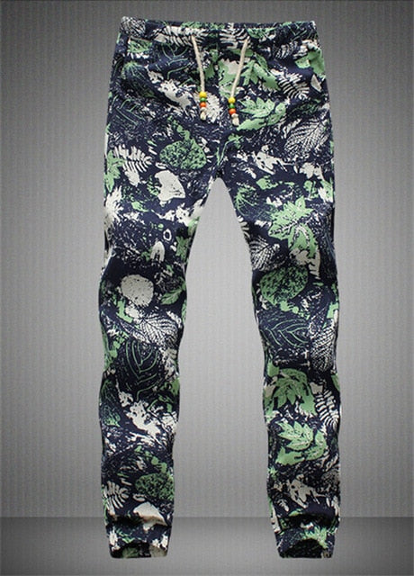 New fashion Hawaiian Comfortable Leisure Brand High Quality Men Pants Size M - 5 xl casual Mens Joggers