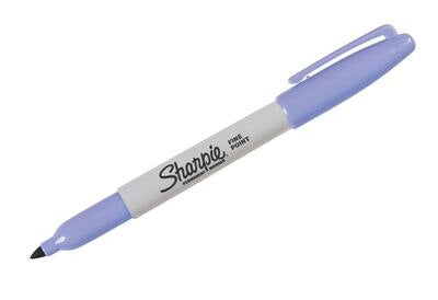 1 Pcs Sharpie Fine Point Round Toe Black Ink Permanent Marker