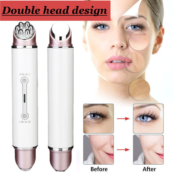 Double Head RF&EMS Radio Mesotherapy Electroporation Face Beauty Pen