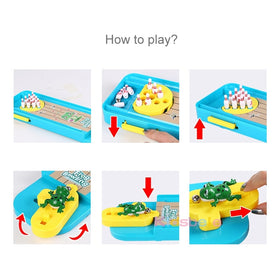 Mini Desktop Bowling Game Toy Funny Indoor Parent-Child Interactive Table Sports Game