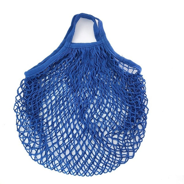 Reusable Fruit Shopping String Grocery Shopper Cotton Tote Mesh