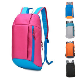 Waterproof Sport Backpack Small Gym Bag Women Pink