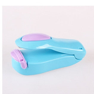 Portable Mini Sealing Machine household food Protector Plastic Bag