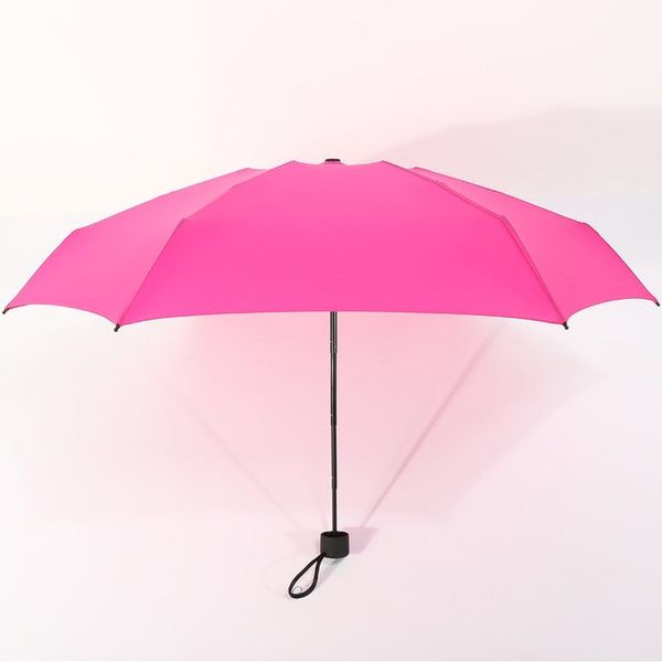 180g Small Fashion Folding Umbrella Rain Women Gift Men Mini Pocket