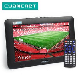9 inch Portable TV DVB-T2 ATSC Digital and Analog Mini Small Car Television