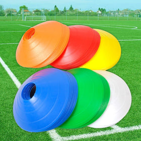 10PCS Outdoor Sport Football Soccer Rugby Speed Training Disc Cone
