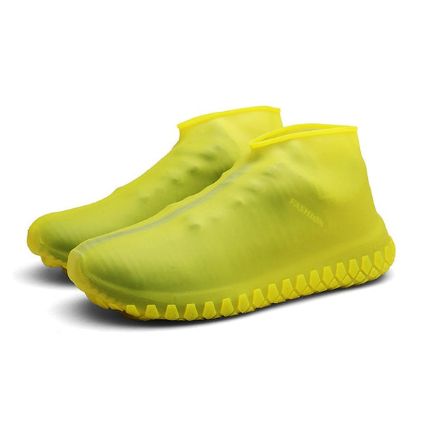 Reusable Shoe Covers Dustproof Rain Winter Step In Shoe Waterproof Silicone Shoe Covers