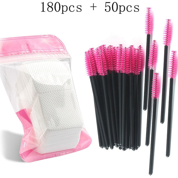 Eyelash Extension Disposable Eyebrow brush Mascara Wand Applicator Spoolers Eye Lashes