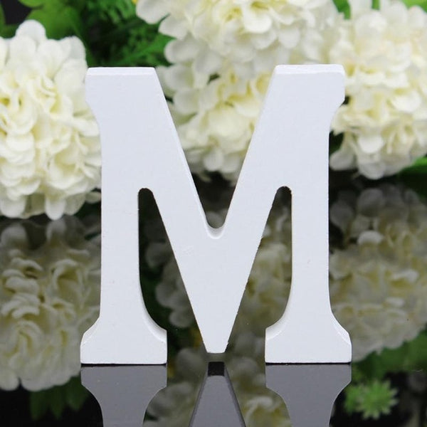 DIY Home Decor Wooden Letters Alphabet Word Bridal Wedding Party