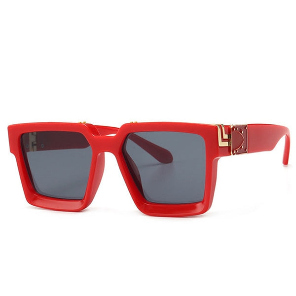 New Fashion Brand Sunglasses Men Women Square UV400