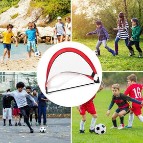 5 colors Soccer Football Goal Net Folding Training Goal Kids Indoor Outdoor Play