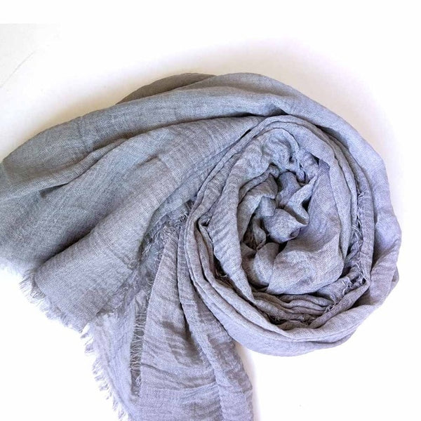 2019 Novelty Crinkle Hijab Cotton Linen Muslim Woman Shawls Turban Islamic Clothing Head Wrap