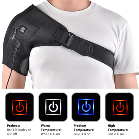 Heat Therapy Hot Adjustable Shoulder Heating Pad