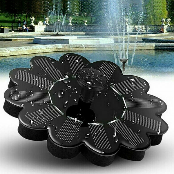 Solar Fountain Garden Kit Solar Water Pump Outdoor Landscape Fish Pool Pond
