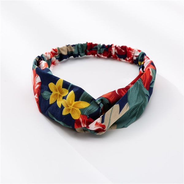 Bohemian Hair Bands Print Vintage Bandanas For Women