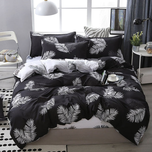 Lanke Cotton Bedding Sets, Home Textile Twin King Queen Size Bed Set