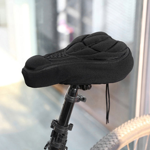 3D Bicycle Saddle Seat NEW Soft Bike Seat Cover Comfortable Foam Seat