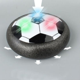 Kids Levitate Suspending Soccer Ball Air Cushion Floating Foam Football with LED Light Gliding