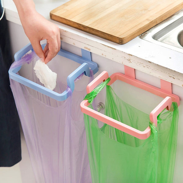 Kitchen Garbage Cupboard Door Back Hanging BagCabinet Door Organizer