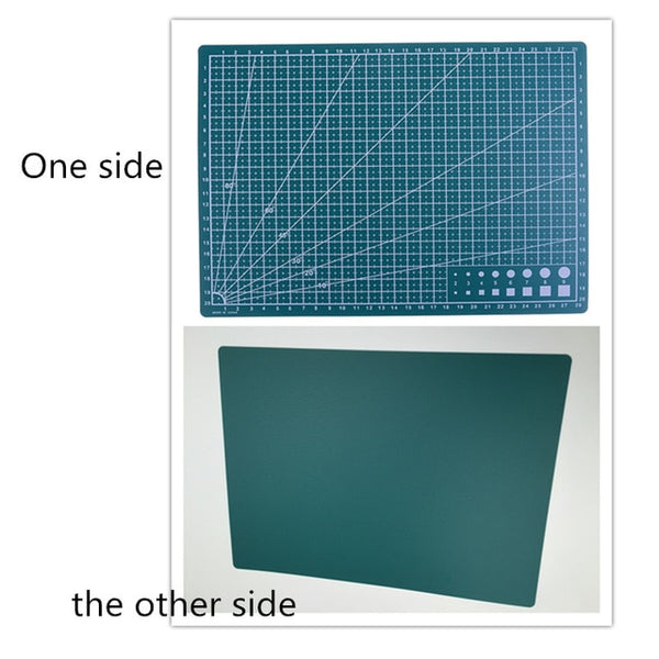 Double Sided Cutting Mat A4 Durable Cut Pad Patchwork Tool Handmade Cutting Plate