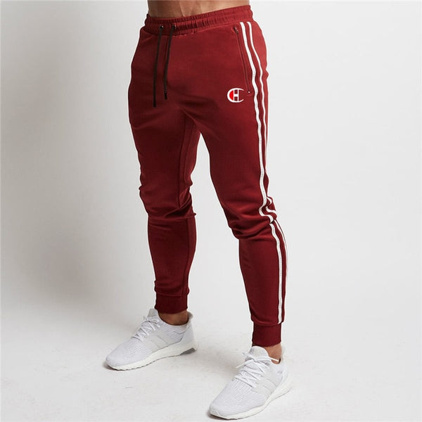 Men's Jacket + Pants Tracksuit Male splice Long Sleeve red black Casual 2 Piece Set male pocket zipper