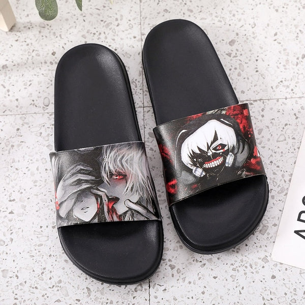 Dragonball Shoes for kids Dragon Ball z Naruto Son Goku Shower Men's Slippers
