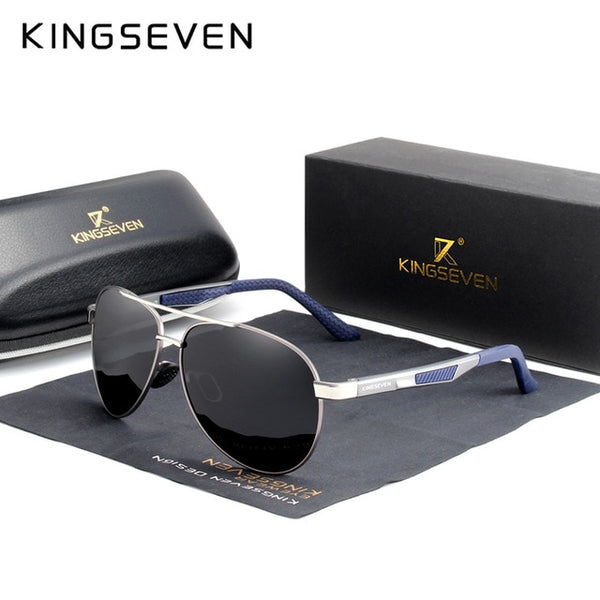 KINGSEVEN Brand Men's Sunglasses Polarized UV400 Lens