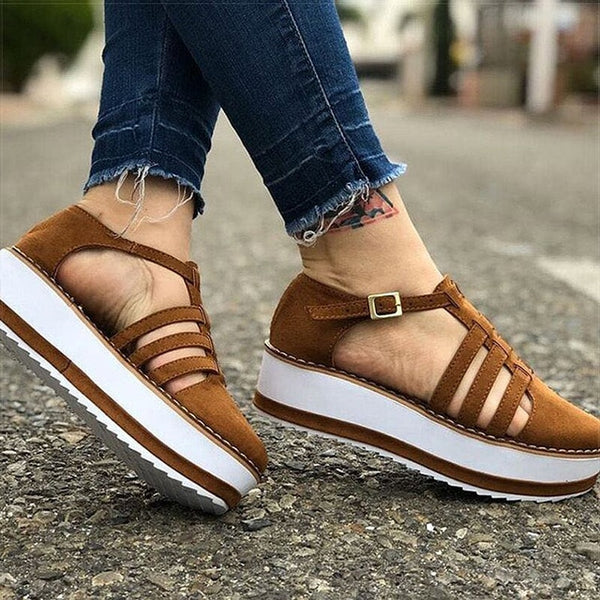 Women Shoes 2020 New Platform Sneakers For Summer Vulcanize Shoes Female Plus Size Chunky Sneakers