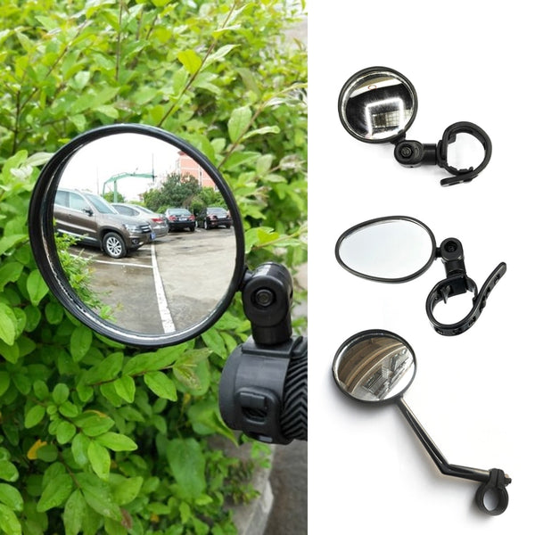 1 Pieces Bicycle Adjustable Rearview Mirror MTB Road Bike Safety Tool Handlebar