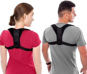 Back Adjustable Posture Corrector Belt Upper Back Support
