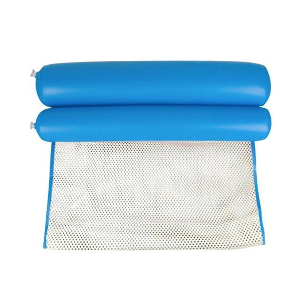 Foldable Air Mattress Summer Water Hammock Swimming Pool Inflatable Mat Toys Rafts Floating Bed for Swimming