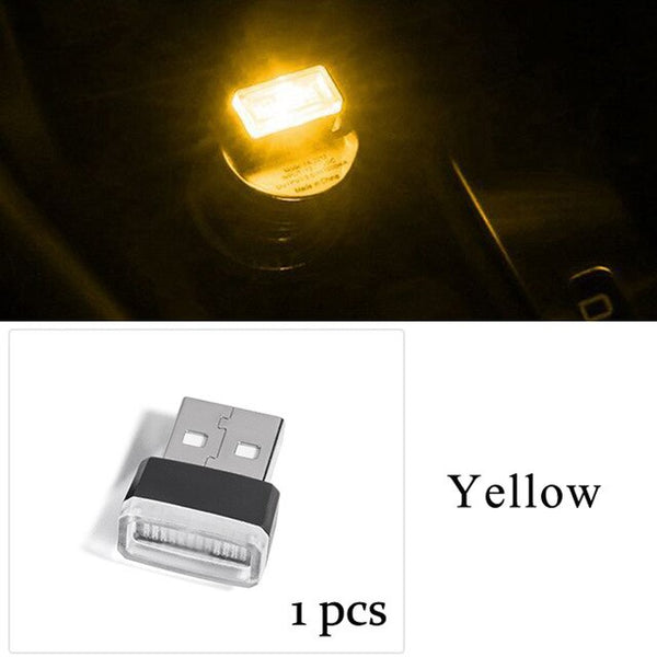 Car Led Light Computer Phone Usb Universal Lamp