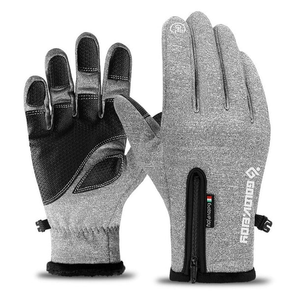 Cold / Water Proof Unisex Winter Cycling Fluff Warm Gloves