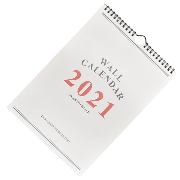 2021 Daily Schedule Hand-painted Calendar Monthly Schedule Wall Calendar