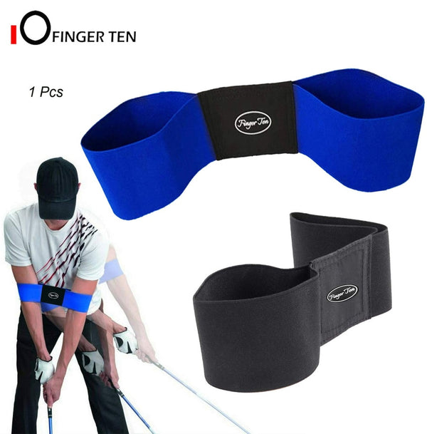 Hot Sale Professional Elastic Golf Swing Trainer Arm Band Belt Gesture Alignment Training Aid for  Eginner Practicing Guide