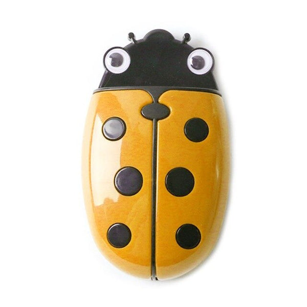 Cute Ladybug Fridge Magnetic Storage Box Eraser Whiteboard Pen Organizer
