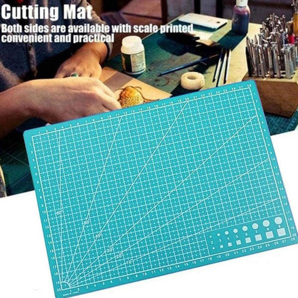 1PC A4 Cutting Mat Grid Lines Self Healing Cutting Mats High Quality Craft Card