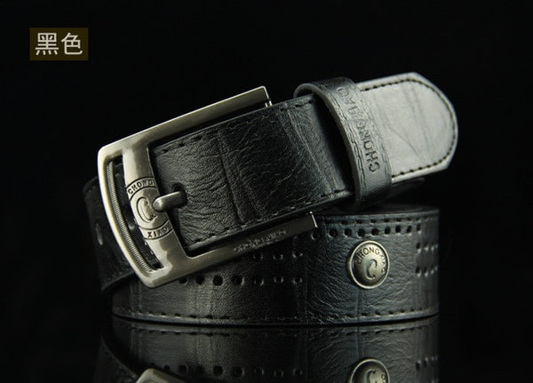 Men's Pin Buckle rivet Stud Retro Belt punk style Teenage students jeans waistband p70 causal fashion