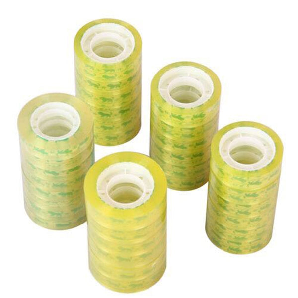 30m Office Stationery Transparent Tape Seal Tape High Accessories Packaging Tape Self-adhesive Office School Viscidity Stro D1G2