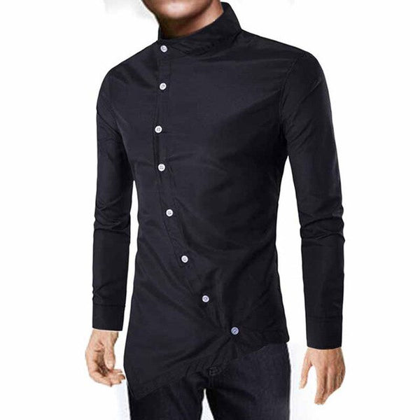 Men's Shirts Fashion Smart Shirts Gentlemen Casual Shirts Slim Long Sleeve Top Dress Shirts Top Men Clothing Ropa De Hombre