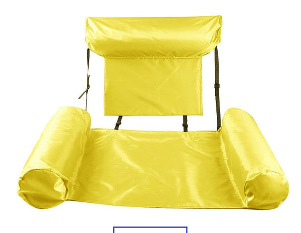 PVC Summer Inflatable Foldable Floating Row Swimming Pool Water Hammock Air Mattresses Bed Beach Water
